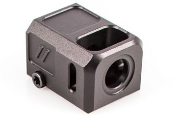 3-ZEV COMPPROB Pro Compensator Compatible With Glock 19 1/2x28 Tpi 7075 T6 Aluminu