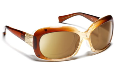 Ziena Oasis- Brown Fade Sunglasses, S-L 016540