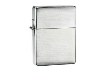 Zippo 1935 Replica Classic Lighter w/out Slashes, Brushed Chrome 193525