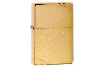 Zippo 1937 Vintage Series Classic Style Lighter, Brushed Brass 240