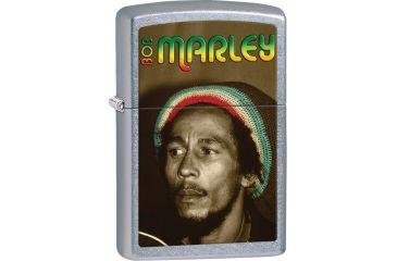 Zippo Bob Marley Street Chrome Lighter ZO28488