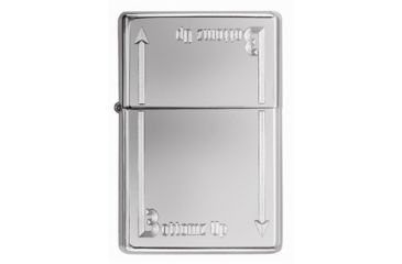 Zippo Bottomz Up High Polish Chrome Classic Style Lighter 24383
