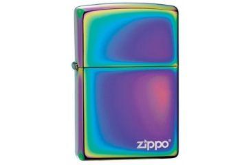 Zippo Classic Style Lighter, w/ Zippo Logo, Spectrum 151ZL