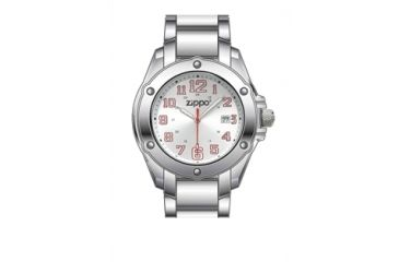 Zippo Dress Modern Style Watch, Silver, Large 45015
