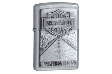 Zippo Harley Davidson An American Legend Classic Style Lighter, Street Chrome 20229