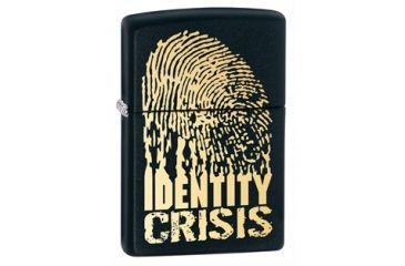 Zippo Identity Crisis, Black Matte 28295