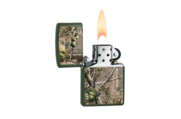 Zippo Realtree APG Classic Style Lighter, Green Matte 28079