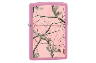 Zippo Realtree Pink Classic Style Lighter, Pink Matte 28078