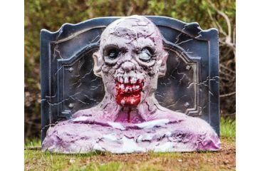 Zombie Industries 3D Bleeding Zombie Head Target - Grave Digger