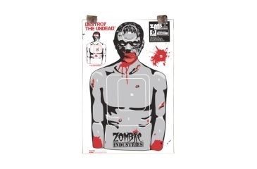 Zombie Industries Assorted Zombie Colossal Paper Targets 24x36 Inch 25 Per Package