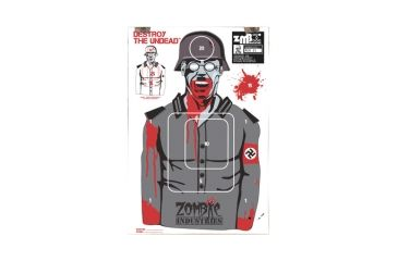 Zombie Industries Nazi Zombie Colossal Paper Targets 24x36 Inch 10 Per Package