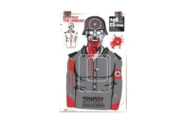 Zombie Industries Assorted Zombie Standard Paper Indoor Targets 18x24 Inch 10 Per Package
