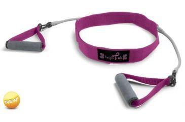 Zon Walking Belt with Resistance Tubes, Pink 063480