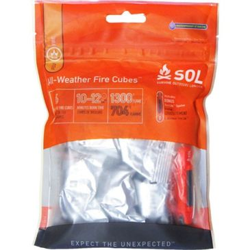 Sol All-Weather Fire Cubes Brand Sol.