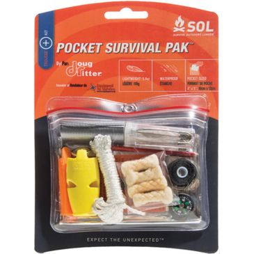 Sol Pocket Survival Pak Save 12% Brand Sol.