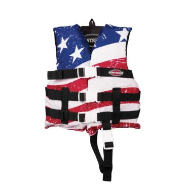 Airhead Child General Boating Stars & Stripes Gp Pfd Life Vest Save 25% Brand Airhead.