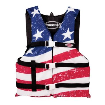 Airhead General Boating Stars & Stripes Gp Pfd Life Vest Save 23% Brand Airhead.