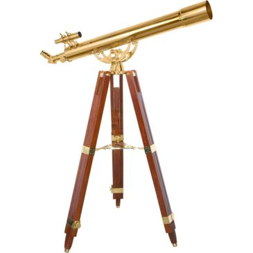 Barska 36x80mm Anchormaster Telescope, Sky & Land Brass Scope W/ Mahogany Tripod Ae10824 Save 59% Brand Barska.