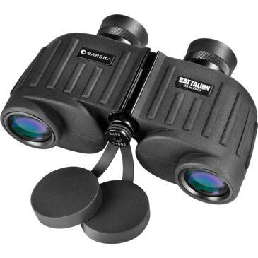Barska 8x30 Wp Battalion Binoculars W/ Internal Rangefinder, Bak-4, Fully Multi-Coated, Waterproof Ab11036 Save 50% Brand Barska.