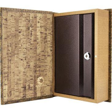 Barska Antique Map Book Lock Box Safe W/ Key Lock Save 55% Brand Barska.