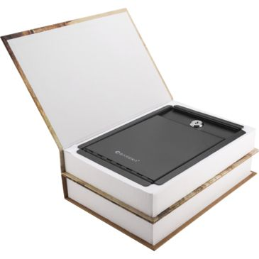 Barska Paris And London Dual Book Lock Box Safe W/ Key Lock Save 54% Brand Barska.