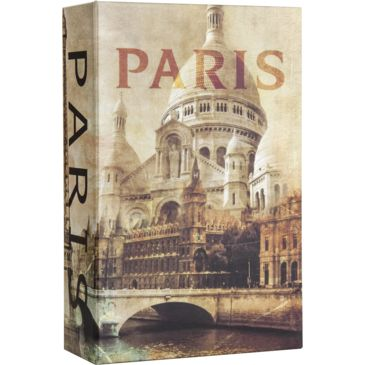 Barska Paris Book Combination Lock Box, 3.75x1.5x6.5in Save 54% Brand Barska.