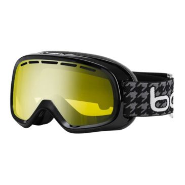 Bolle Bumpy Ski/snowboard Goggles - Shiny Black Guitar Frame And Vermillon Gun Lens Save Up To 24% Brand Bolle.