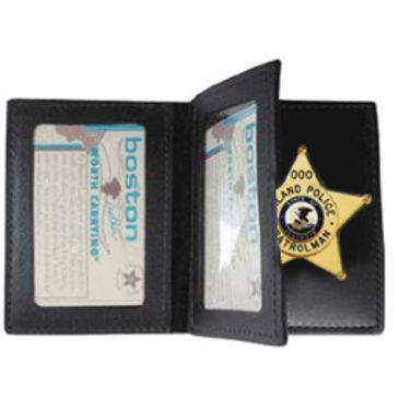 Boston Leather Book Style Badge Casew/ Doubleclearance Save 22% Brand Boston Leather.