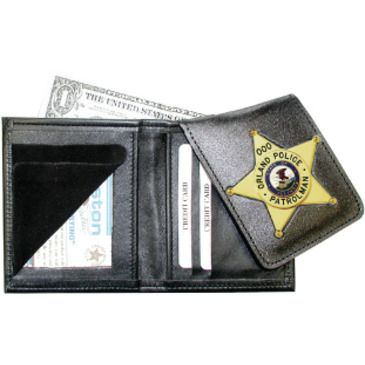 Boston Leather Book Style Wallet W/flipout Ba Save 25% Brand Boston Leather.