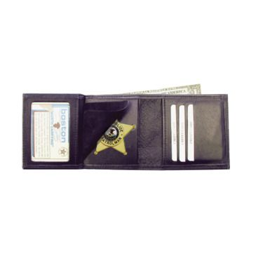 Boston Leather Tri-Fold Badge Case Wallet Save Up To 44% Brand Boston Leather.