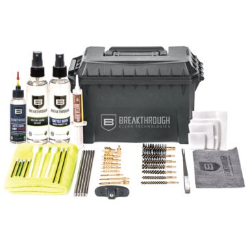 Breakthrough Clean Technologies Ammo Can Cleaning Kit - Rod/cablefree Gift Available Save 23% Brand Breakthrough Clean Technologies.