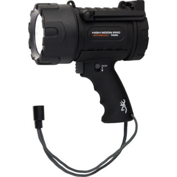 Browning Bg High Noon L.e.d. Spotlight 100-1400 Lumens Rechargeablefree 2 Day Shipping Save 22% Brand Browning.