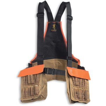 Browning Pheasants Forever Strap Vest Field Tan Logo Embroidery 30511732 Save 42% Brand Browning.