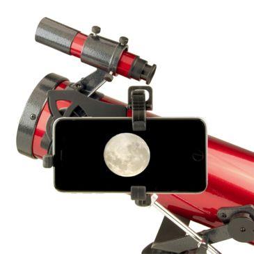 Carson Redplanet 35 - 88 X 76mm Newtonian Reflector Telescope W/smartphone Adapter Save 26% Brand Carson.