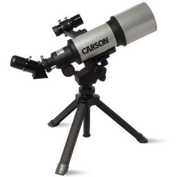 Carson Sky 70mm Short Tube Wide Angle Refractor Telescope Sv-350 Save 48% Brand Carson.