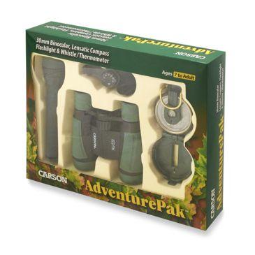 Carson Adventurepak Binocular, Compass, Flashlight, Whistle, Thermometercoupon Available Save 28% Brand Carson.