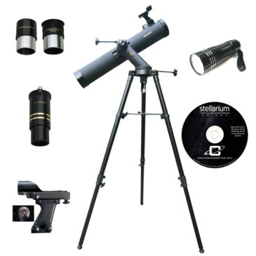 Cassini C-80080trled 800x80mm Astronomical Red Led Reflector Telescope Kit Save 53% Brand Cassini.