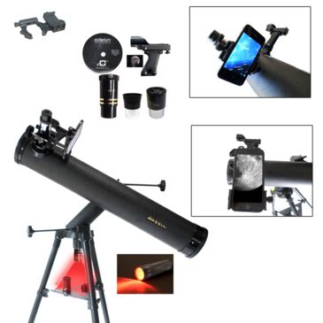 Cassini Astronomical Reflector Telescope And G-Spa Smartphone Adapter And Red Led Observation Light Save 53% Brand Cassini.