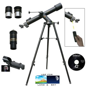 Cassini Astronomical/terrestrial Telescope, W/electronic Focus Save 53% Brand Cassini.