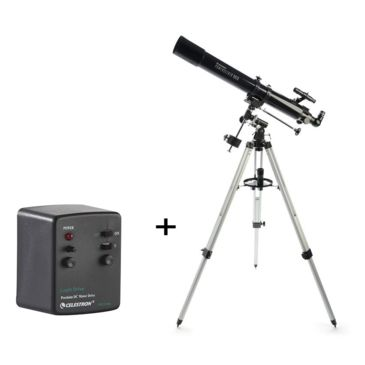 Celestron Powerseeker 80eq Refractor Telescope Package - Telescope 21048 W/ Motor Drivebest Rated Save 35% Brand Celestron.