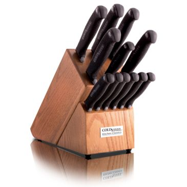 Cold Steel 14in Kitchen Knife Set Save 31% Brand Cold Steel.