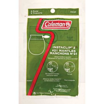 Coleman Insta-Clip Mantles Number 21 - 2pk Save 28% Brand Coleman.