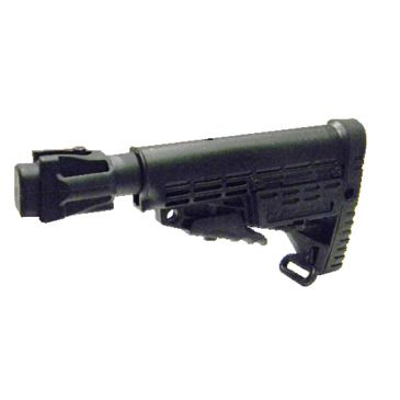 Command Arms Accessories Caa - Ak47 6 Pos Polymer Stock Tube/stamped Receivers Save $9.00 Brand Caa.