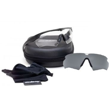 Ess Crossbow Suppressor 2x Tactical Eyeshields Unit Issue W/ Black Framesbest Rated Save 26% Brand Ess.