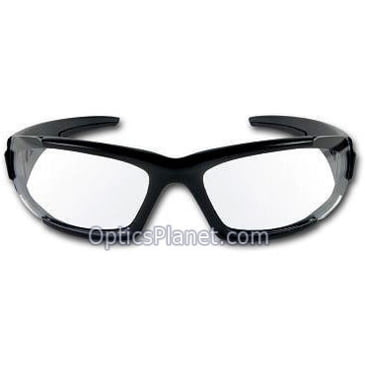 ESS Sunglasses CDI Medium Black with Interchangeable Clear and Smoke Gray Lens