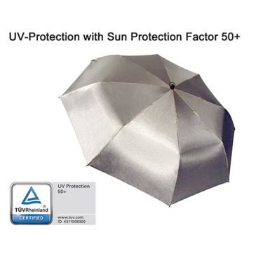 Euroschirm Swing Umbrella, Silver Uv-Protection 50+ Save 16% Brand Euroschirm.