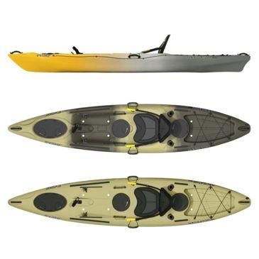 Evoke Paddle Sports Navigator 120 Fishing Kayak Brand Evoke Paddle Sports.