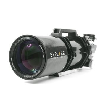 Explore Scientific Fpl-53 Carbon Fiber Ed115 F/5.5 Apo Triplet Refractor W/ Ohara Fpl53 Optics And Starlight True 3in Focuser Save 55% Brand Explore Scientific.