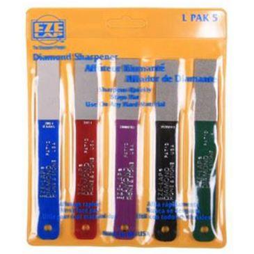 Eze-Lap Diamond Stone Sharpener 5pc Set Save 11% Brand Eze-Lap.