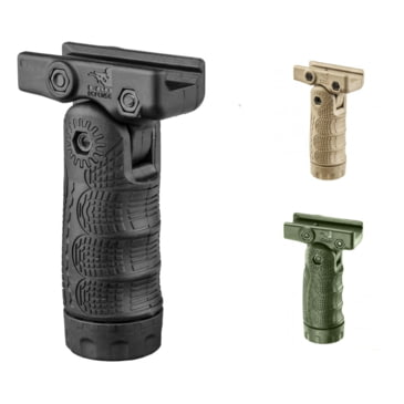 1//6 Scale Toy FOREGRIP Black Folding Vertical Foregrip